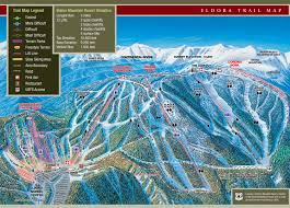 Colorado Trail Maps by Eldora Mountain Ski Trail Map Nederland Co 80466 U2022 Mappery