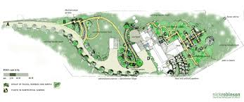 Planning Garden Layout by Nick Robinson Landscape Architects Landscape Architect Project
