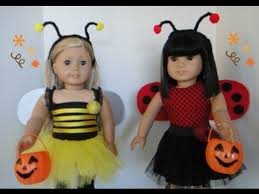 Girls Pumpkin Halloween Costume Halloween Costume American Dolls