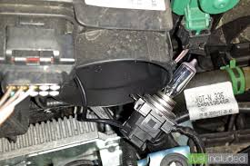 renault zoe engine changing the headlamp bulbs in a renault zoe fuel included