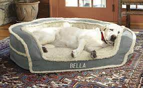 Dog Beds With Cover Oversized Horseshoe Bolster Dog Bed Cover Liner Orvis