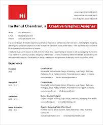 graphic designer resume templates 9 free word pdf format