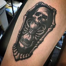 90 coffin tattoo designs for men buried ink ideas