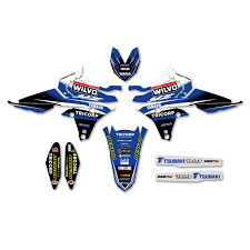 yamaha emblem yamaha team wilvo mx2 mxgp graphics kit