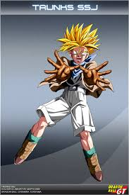 dragon ball gt trunks ssj dbcproject deviantart