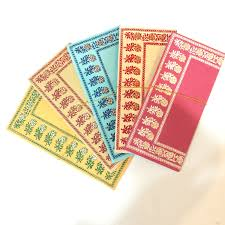 wedding gift or money set of 5 gift envelopes with tassels money envelopes