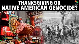 thanksgiving or american genocide