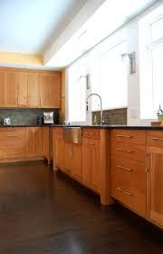1000 Ideas About Black Granite Countertops On Pinterest by Kitchen Backsplash Cherry Cabinets Black Counter