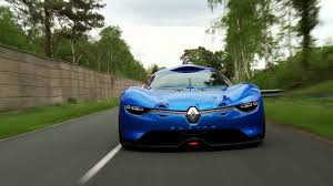 renault alpine a110 50 le concept car renault alpine a110 50 en action youtube
