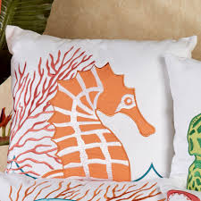 tropic escape coastal decorative pillows