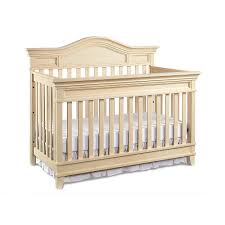 Baby Cache Lifetime Convertible Crib by Babi Italia Asheville Lifetime Convertible Crib Oyster Shell