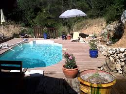1 exotic house zen type of 90m2 with garden and small pool aix