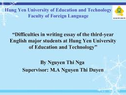 thesis about education in english powerpoint of graduation thesis of english major