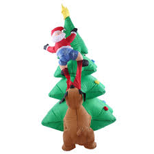 Tall Inflatable Christmas Decorations by Aliexpress Com Buy 1 8m Tall Inflatable Christmas Tree Santa