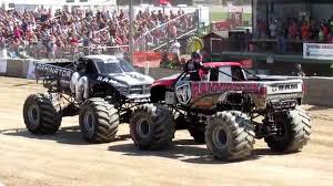 monster truck videos freestyle raminator u0026 rammunition monster truck freestyle at 2014 washington
