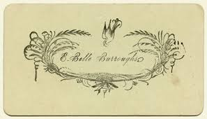 the etiquette of visiting cards history and other thoughts