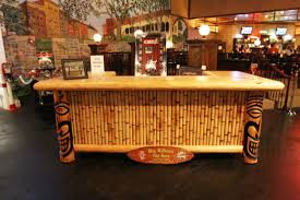 build a natural tiki bar in your backyard for enjoyment