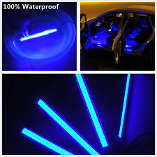 Led Strip For Car Interior Car Decoration Ebay