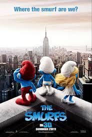 the smurfs the smurfs movie poster 1 of 20 imp awards
