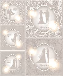 wedding invitations vector embellished wedding invitations vector free stock vector
