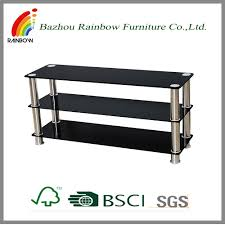 stainless steel and glass tv stand stainless steel and glass tv