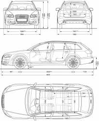 dimension audi a6 the blueprints com blueprints cars audi audi a6 allroad 2006
