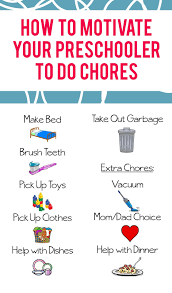 To Do Stickers How To Motivate Your Preschooler To Do Chores Sunshine And Munchkins