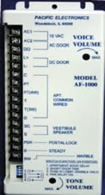 pacific electronics af1000 af 1000 intercom amplifier