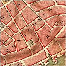 Old Map New York City by Framed Plan Of New York City By Bernard Ratzer 1767 Battlemaps Us