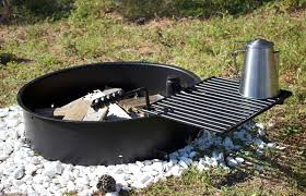 fire pit cooking grate 24