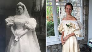 wedding dresses 200 will be 11th in family to wear 120 year wedding dress