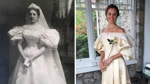 wedding dress restoration will be 11th in family to wear 120 year wedding dress
