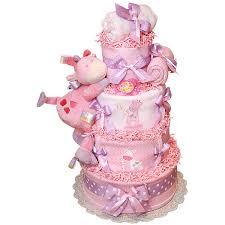 jungle pink and lavender giraffe diaper cake 179 00 diaper
