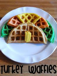 breakfast thanksgiving morning random thoughts of a supermom waffles