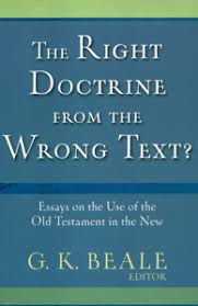 Right Doctrine Wrong Text
