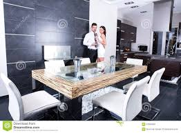 young couple room a young couple in the dining room stock photo image 61699948
