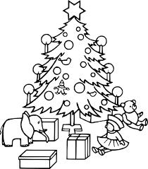 Coloriage Sapin De Noel Gratuit Imprimer  Arangoslimo