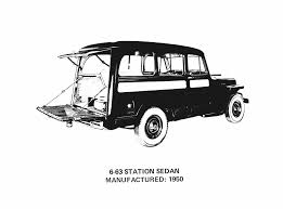 jeep sedan jeep heritage 1950 jeep willys station wagon photo gallery
