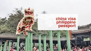 chinese visa for philippine passport holders update 2016