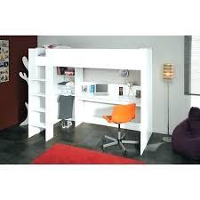 lit superpose bureau lit superpose avec bureau lit mezzanine 1 place bureau lit mezzanine