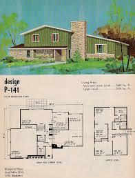 Mid Century Modern Ranch House Plans 260 Best Mid Century U0026 Plans Images On Pinterest Vintage Houses