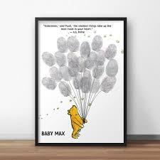 winnie the pooh baby shower guest book alternative pooh zoom