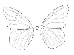 simple butterfly wing designs