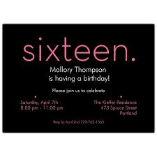 16th birthday invitations afoodaffair me