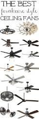 the best farmhouse ceiling fans farmhouse style industrial