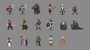 Seeking Characters Pixel Joint Forum Paid Seeking Pixel Artist S Characters Enviro