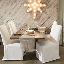 Slipcovered Parsons Dining Chairs Dining Chair