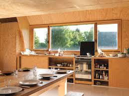 cuisine maison bois maison bois normande par jean baptiste construire tendance