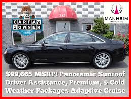 pre owned 2014 audi a8 l 4 0t 4dr car in manheim 009088 manheim