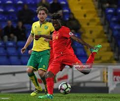 vauxhall lookers liverpool v norwich city u23 premier league cup photos and images